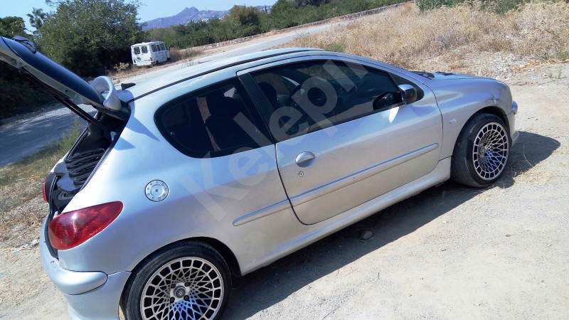 peugeot 206 1.6 110 hp 16v 2004 model benzİn+lpgpeugeot 206 1.6