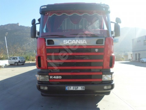 2006 MODEL Scania G 420 ÇEKİCİ RETARDERLİ