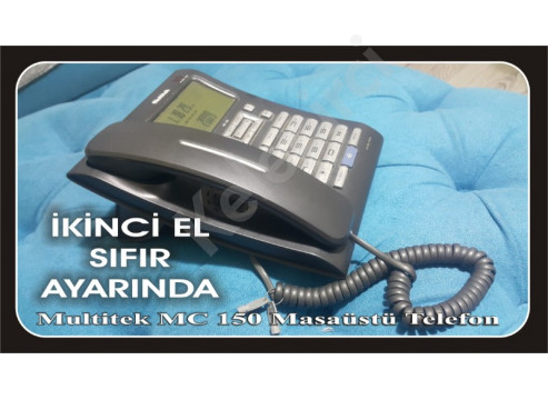Multitek MC 150 Masaüstü Telefon